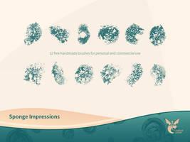 Free Sponge Impressions Brushset by ninahagn