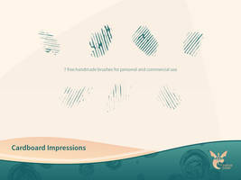 Free Cardboard Impressions Brushset by ninahagn