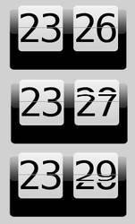 Animated HTC Clock