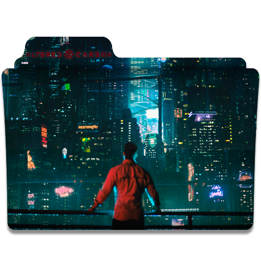 Altered Carbon TV Series Folder Icon by luciangarude on