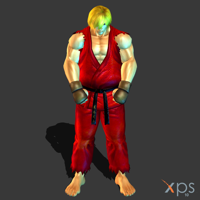 street fighter Ken Master by IIReII