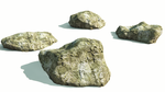 Sculpted Rocks Freebie