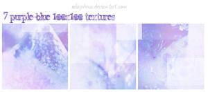 7 Purple-Blue Icon Textures