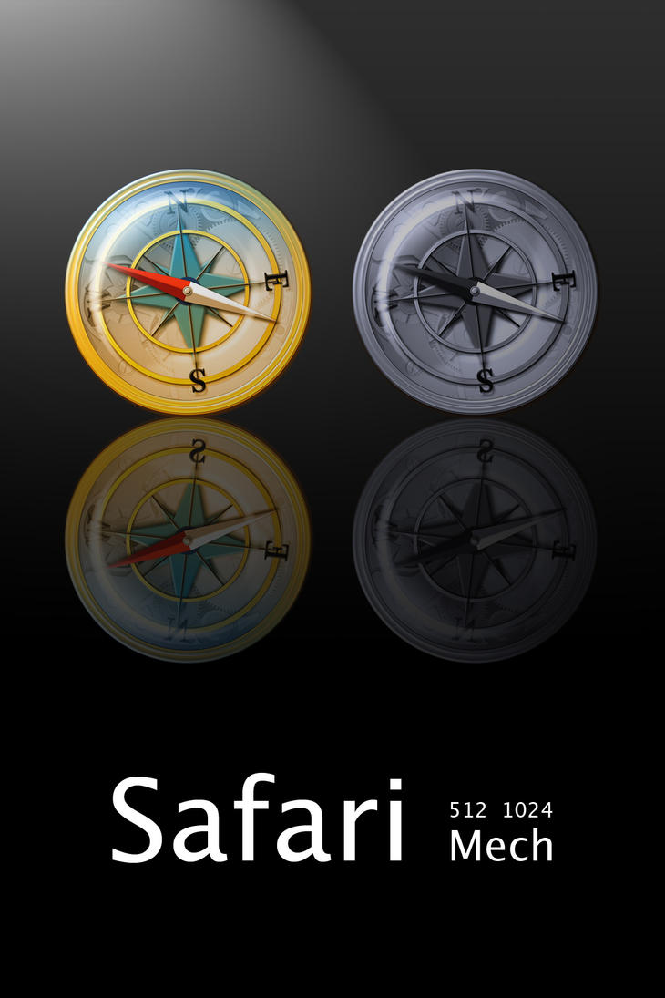 Safari Mech Icons by erosle