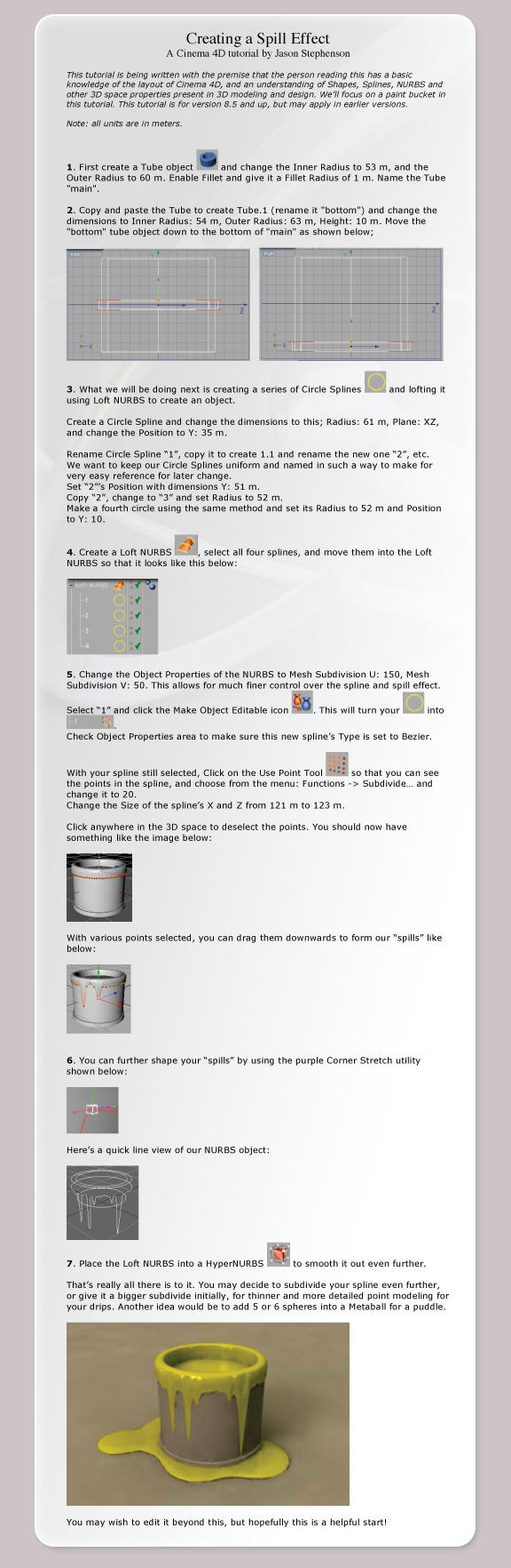 Spill Effect Tutorial by chromosphere