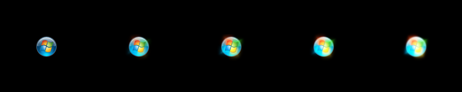 Windows 7 RC1 Orb Animation By Xantic21