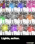 Lights, action,. by asweetgiirl