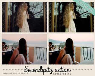 Serendipity action by asweetgiirl
