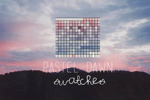 pastel dawn swatches by asweetgiirl