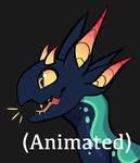 happy (animated) by Fussyraptor