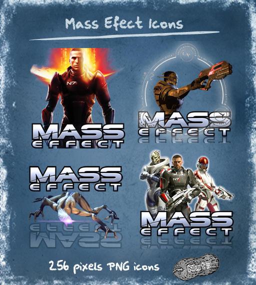 иконки mass effect: