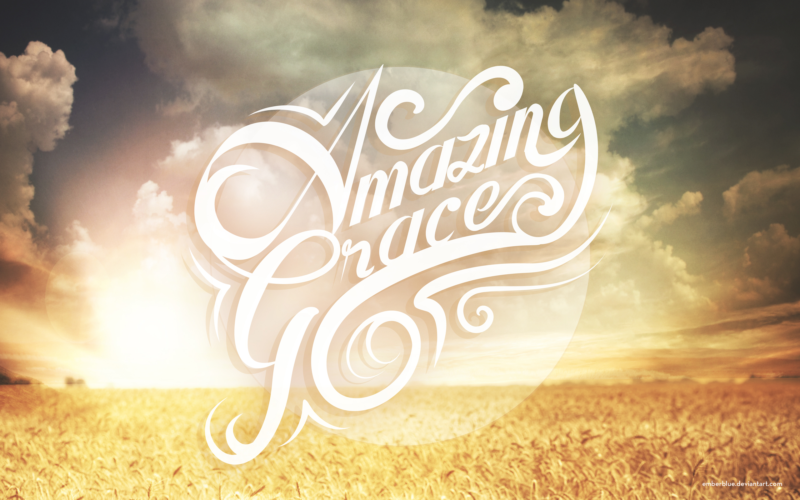 Amazing Grace Wallpaper