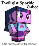 Equestria Girls Twilight Sparkle Cubee