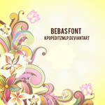 Bebas font by kpopeditzmlp