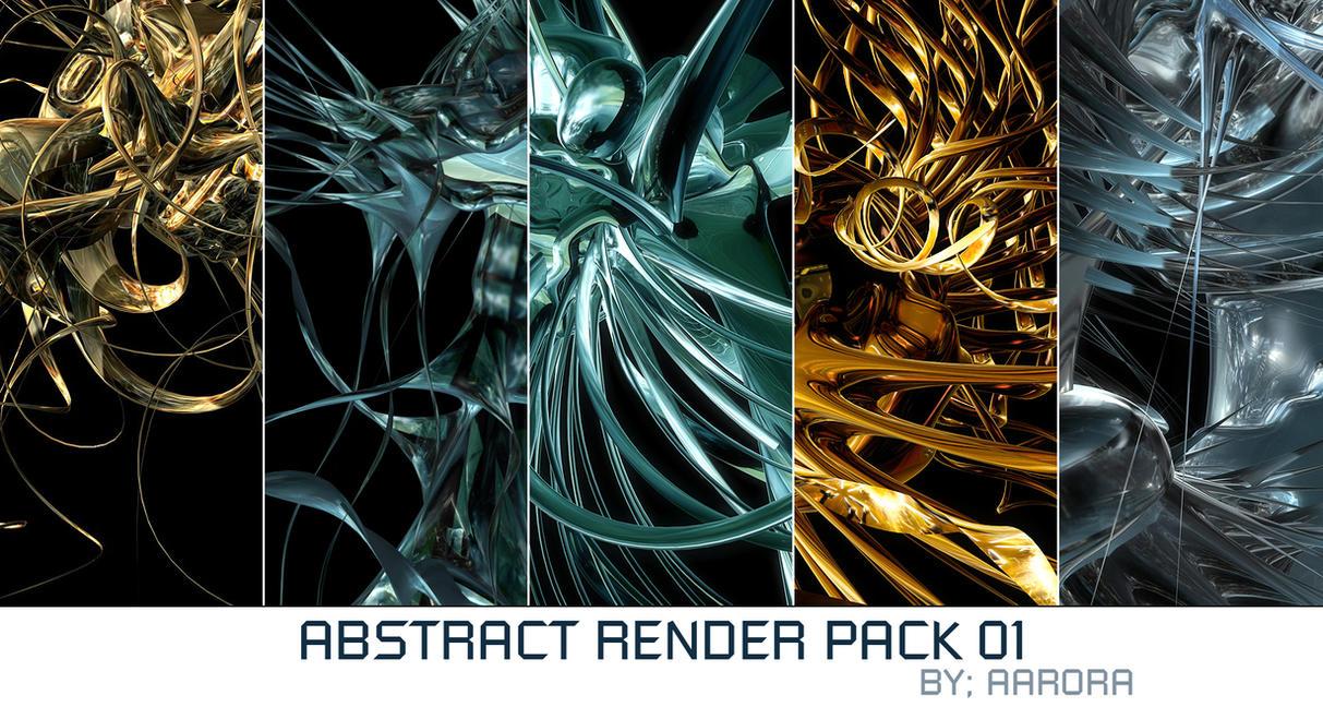 Abstract Render Pack 01 by aarora