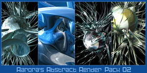 Abstract Render Pack 02 by aarora