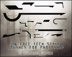 16 Free Tech Style by Atelophobia-Graphics