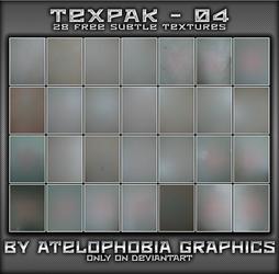 TEXPAK - 04 [FREE] by Atelophobia-Graphics