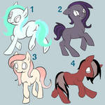 Pony Adoptables! (10 pts) Closed!