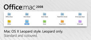 Office:mac 2008 folders