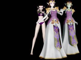 TDA Princess Zelda by JuleHyrule by JuleHyrule