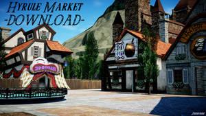 Hyrule Market [MMD] DL