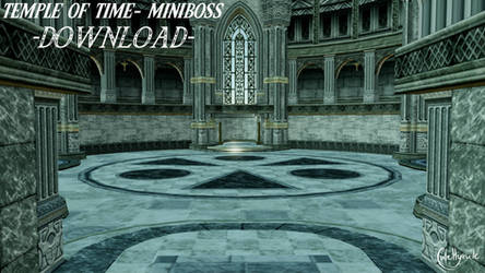 Temple of Time - miniboss [MMD] DL by JuleHyrule