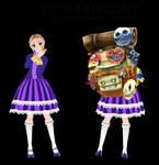 [MMD] TDA Zelda Happy Mask Saleswoman [DL]