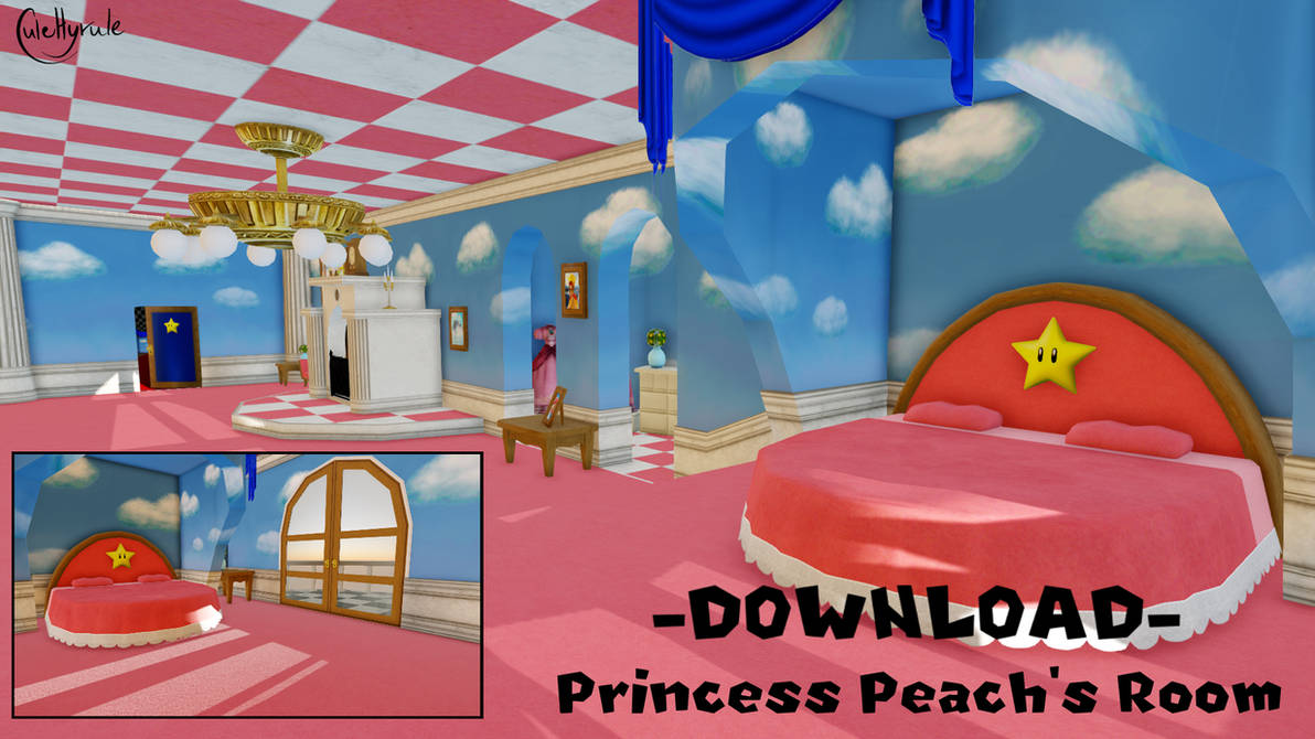 Princess Peach S Room Mmd Dl By Julehyrule