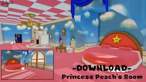 Princess Peach's Room [MMD] DL