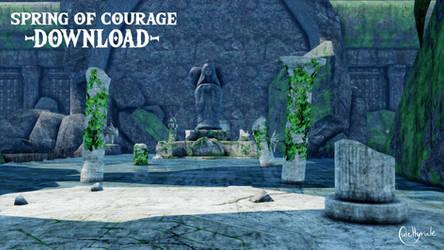 Spring of Courage [MMD] DL