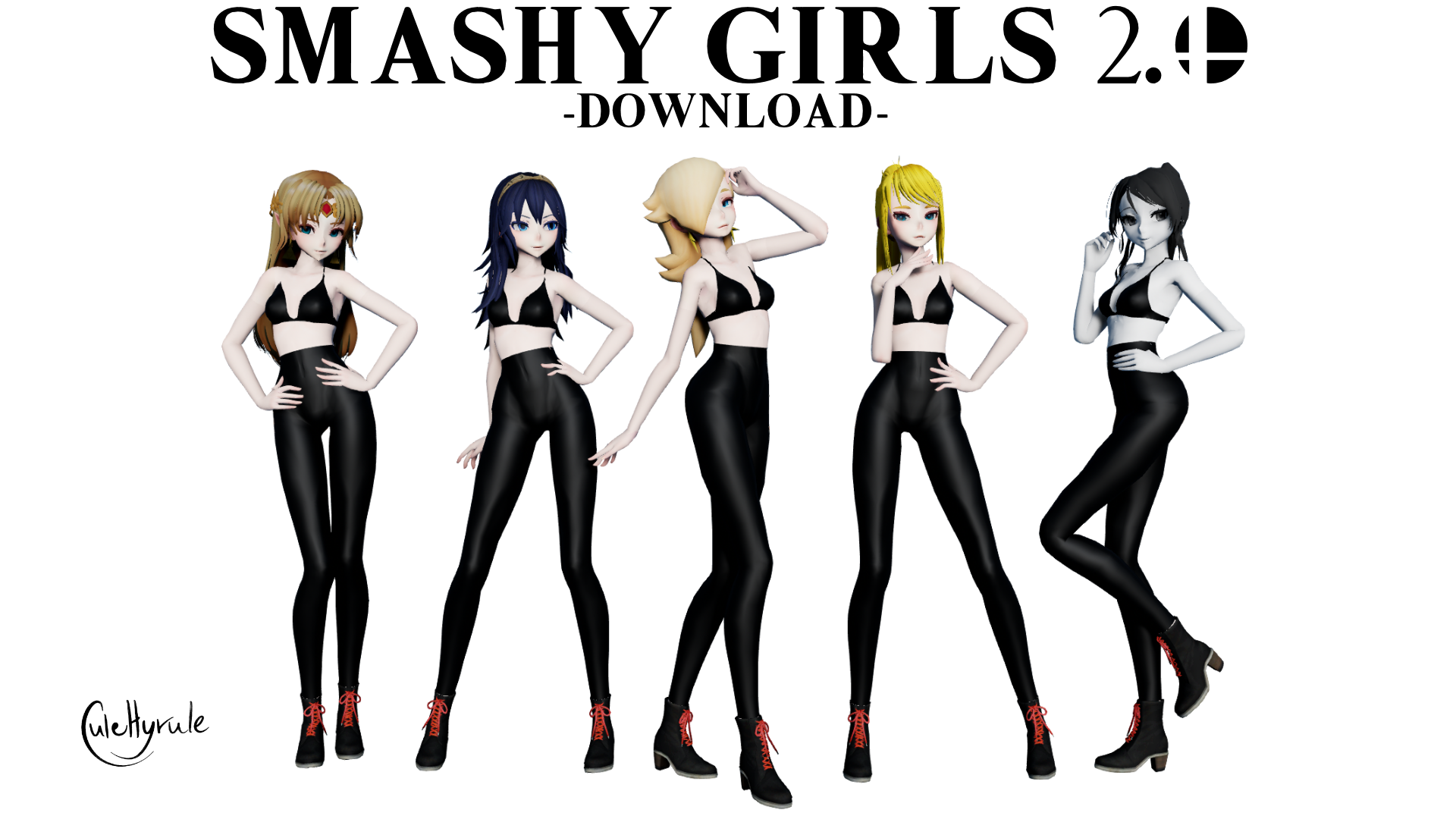 [MMD] SMASHY GIRLS 2.0 [DL] by JuleHyrule