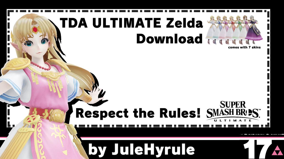35TH Birthday Present: TDA ULTIMATE Zelda for MMD
