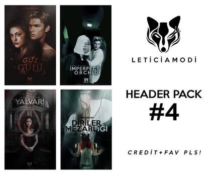 PSD FILE Header Pack #4