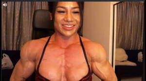 Asian Muscle Cleavage GIF