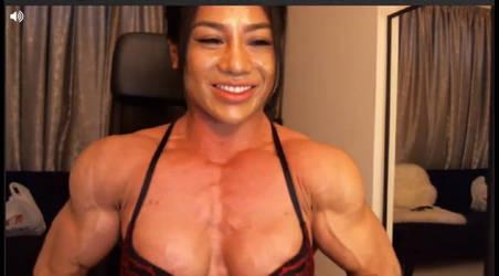Asian Muscle Cleavage GIF by femcepsfan