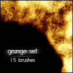 Grunge brushes set 3