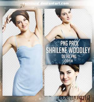 10 - Shailene Woodley - PNG Pack