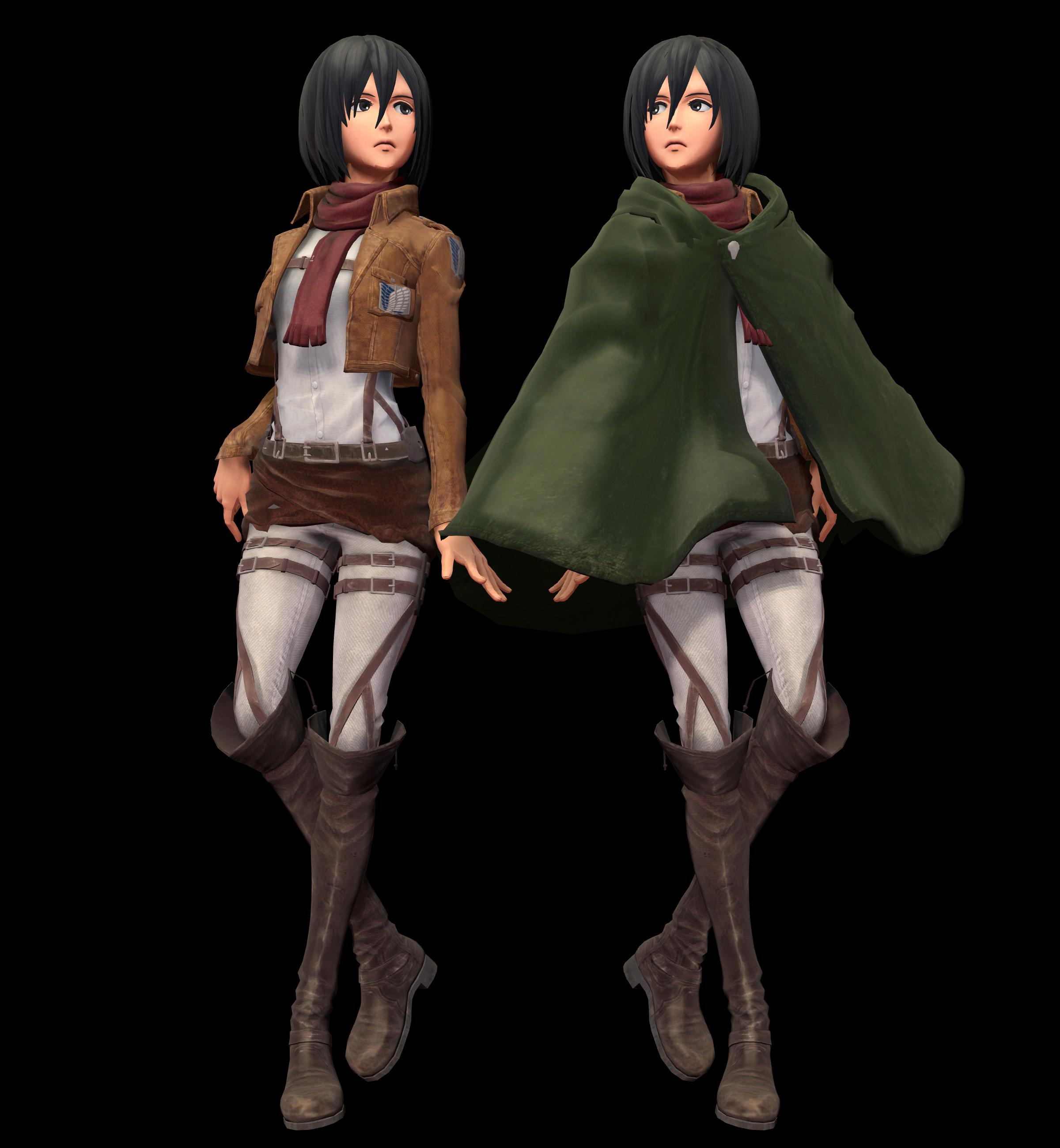 Mikasa Updated dl by MikuMikuKnight