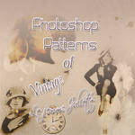 Patterns For Photoshop Of Vintage In Tones Sepia