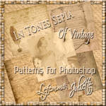 Patterns For Photoshop Of Vintage In Tones Sepia 2