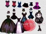 Gothic Clothing Pack 1