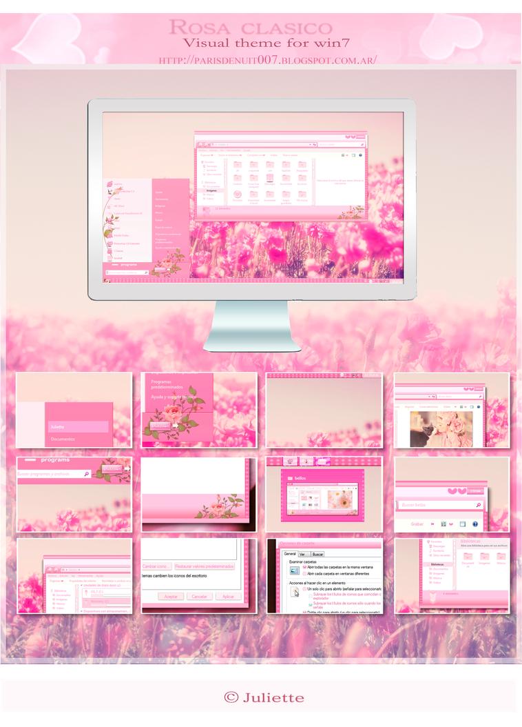 Rosa clasico (sin protector de pantalla) by julietawild07