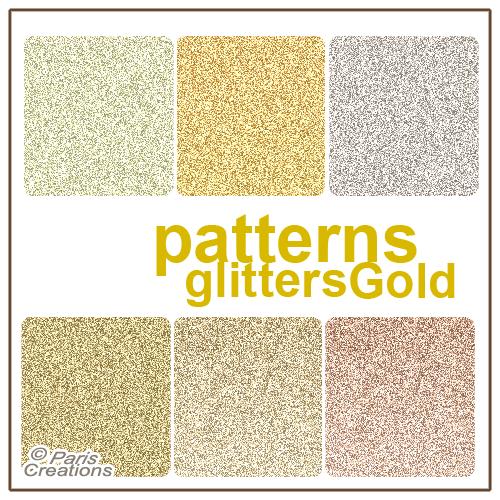 Glitter Dorado by julietawild07
