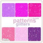 Glitters Purpuras Y Rosados