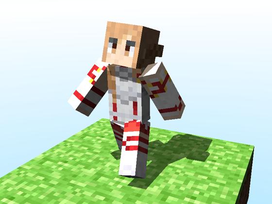 Minecraft Skin Asuna Sword Art Online By Denzule On DeviantArt - Skins para minecraft online