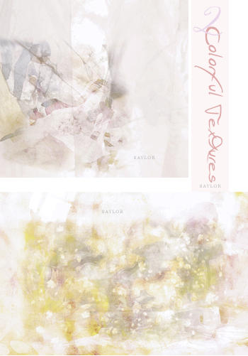 2 colorful textures by saylorgirl