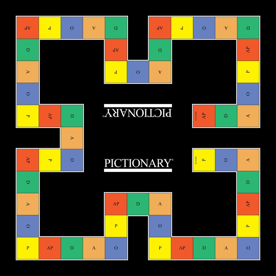 Pictionary Board (English/Greek) by semereliif