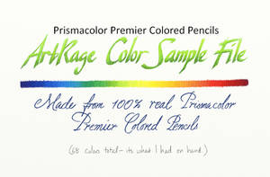 ArtRage Colors: Prismacolor Premier by SynCallio