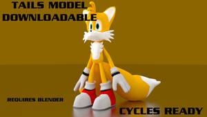 Tails 3D Model - Download